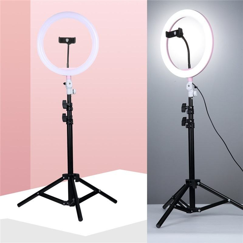 Top Sell Phone Ring Light 26cm Dimmable LED Ring light With Tripod Stand For Makeup Photography Selfie