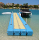 Vanace cubes floating dock for jet ski and swimming pool