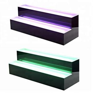 2 stap LED Drank Plank en Fles Display | Home Bar Lichten 2 Tier Stand 16/24/36 /48 Inch