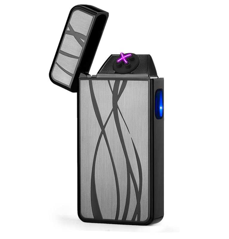 FREE SAMPLE 2018 Fashional Rechargeable Cigrate Lighter/Colorful design plasma X lighter