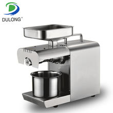 DL-ZYJ04 Latest high efficiency Cooking oil popular making mini canola oil press machine