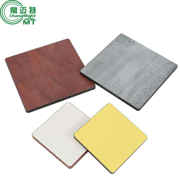 phenolic decorative hpl formica tak metal brushed high pressure laminate fireproof board