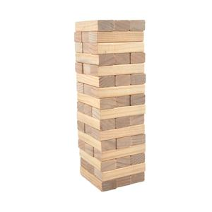 Wooden Giant Jumbo Stacking Game Tower Wooden Building Block Game