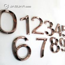 Manufacturer Custom Hotel Door Number Stainless Steel Wall Letter and Number