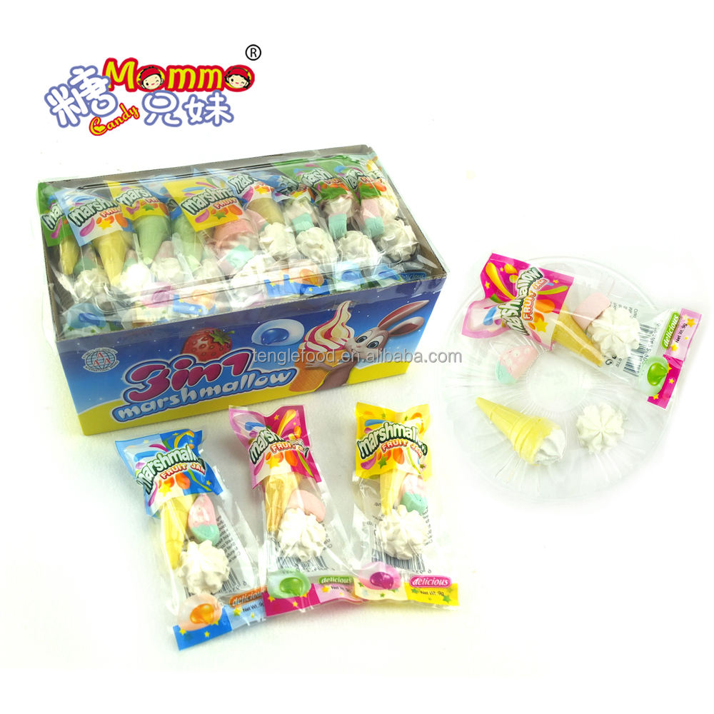MH-014 3 in 1 ice cream white marshmallow