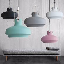 2017 modern design customize colorful single E27 holder pendant lamp Chandelier for living room