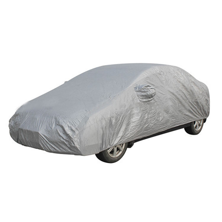 MEDIUM MPE Universal Breathable Water Resistant Indoor /& Outdoor Full Car Cover