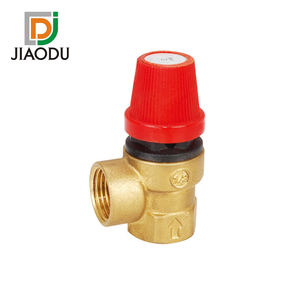 Good quality brass pressure relief boiler gas safety valve