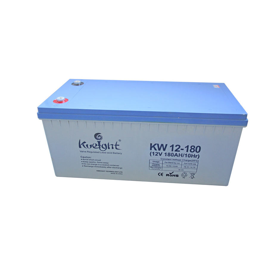 wholesale deep cycle AGM battery 12v180ah back up maintenance free