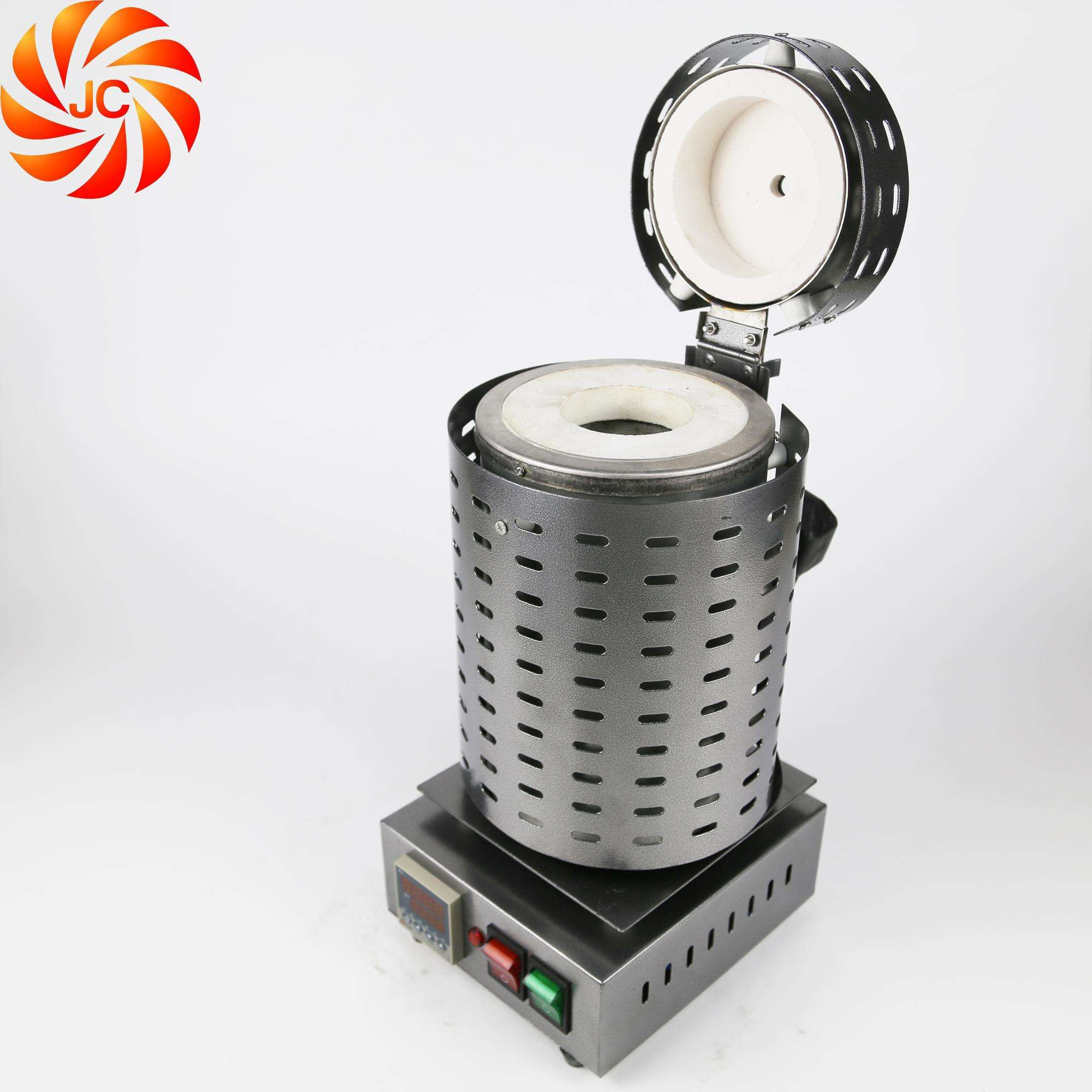 JC Portable small electric arc melting furnace for aluminum
