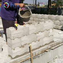 Plastic tile mold concrete hollow blocks wall plastic molds