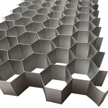Light weight Aluminium/Plastic  honeycomb panel /sheet