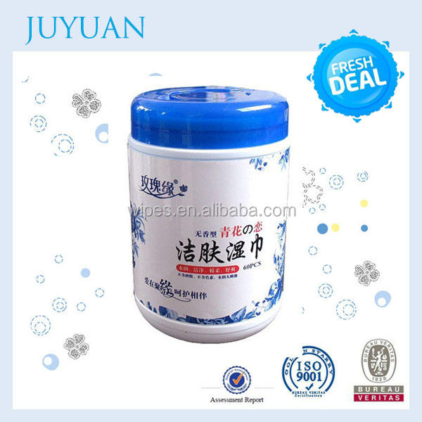 Outstanding dedicated nonwoven spunlace car glass cleaning wet wipes
