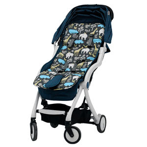 Free Shipping Christmas Gift Handmade Cotton Baby Stroller Pram Liner