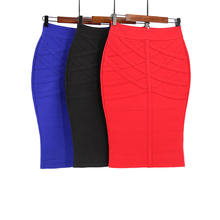 New Fashion High Quality plus size Super elastic pencil skirt for women
