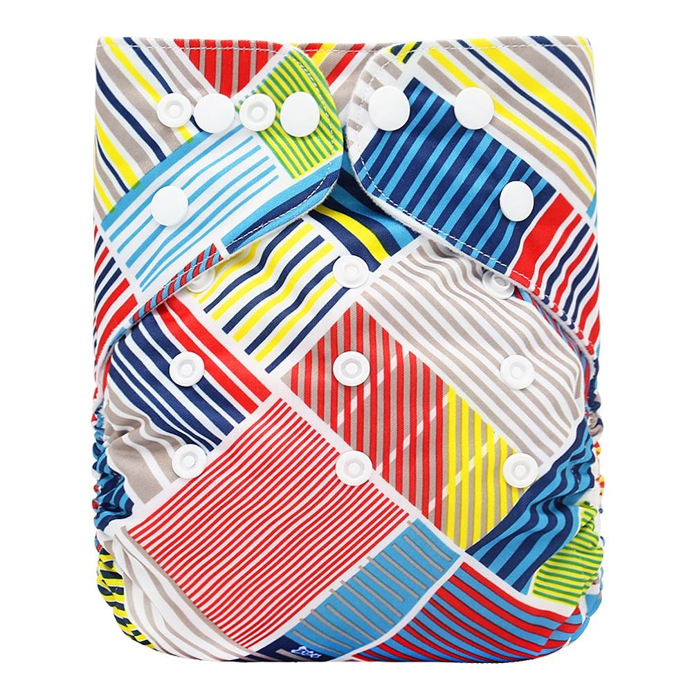 Goodbum Pattern Minky Cheap Reusable Cloth Diaper Nappy