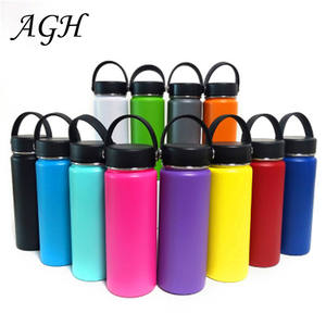 Eco-friendly Large Capacity Stainless Steel Double Wall Thermos Bottle Cups travel flask with Lids