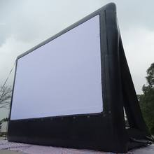 Outdoor Customized inflatable projector screen /inflatable rear projection screen for sale