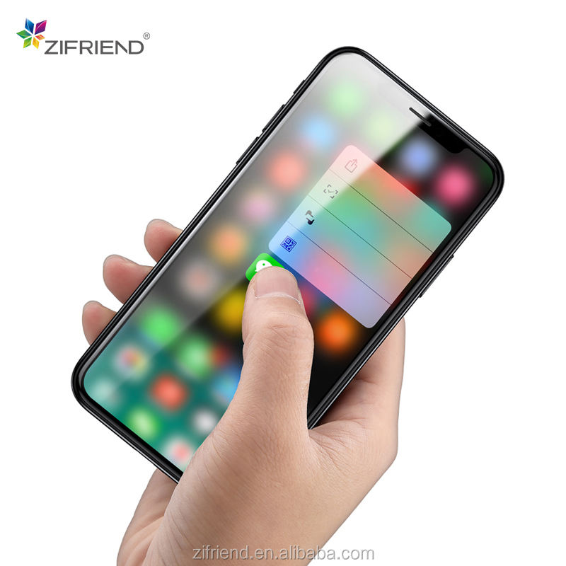 free sample worldwide 3d mobile tempered glass with easy tool for iphone X