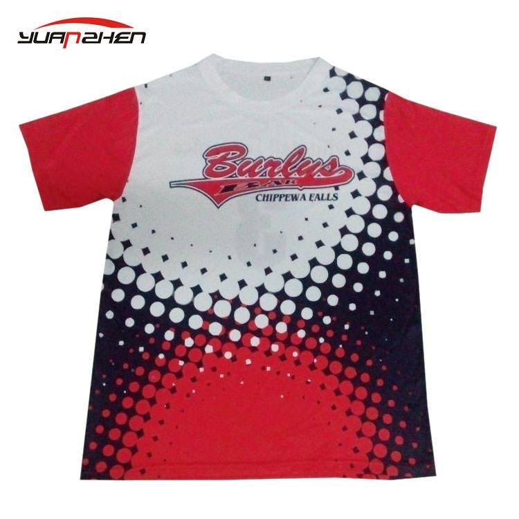 Venda direta da fábrica preço barato personalizado impressão por sublimação camisa réplica de futebol