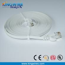 cat5e flat patch cord flat wire power cable