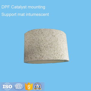 universal catalytic converter support mat