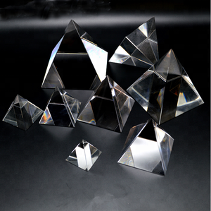 high quality crystal sing egypt crystal clear quartz crystal pyramid prism