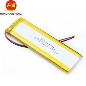 Lithium Polymer Battery 6030100 3.7 V 2000 MAh Lipo Battery