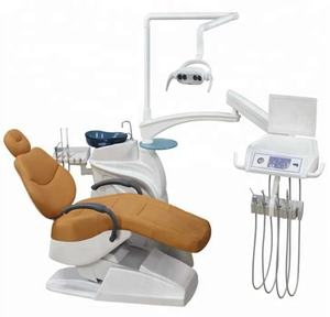 Gas, water, electricity combined 0.2Mpa-0.4Mpa dental chair & Portable type dental chair DC22 on sale