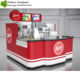 Welcome 2017 Newest Style food kiosk design, counter for fast food with customize design