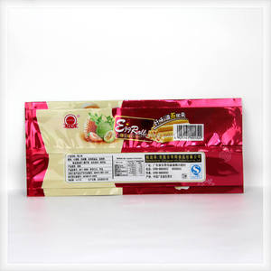 china factory manufacturer Biscuit packaging material plastic egg rolls packaging bag