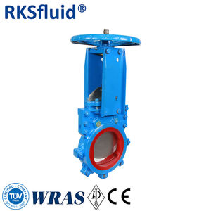 Mining Slurry Coal powder and others medium application Manual Pneumatic/Electric Knife Gate Valve custom made