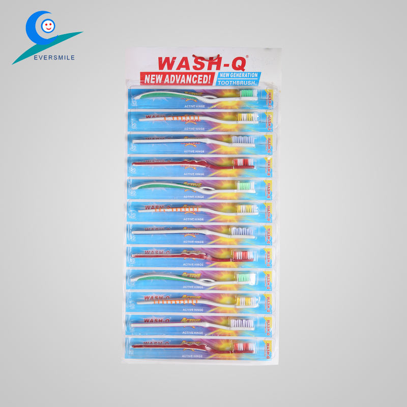 High Quality pvc hanger Tooth Brush