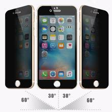 Privacy filter(4 ways)/tempered glass Screen protector/Screen guard for iphone 6 / 6s / 6s Plus