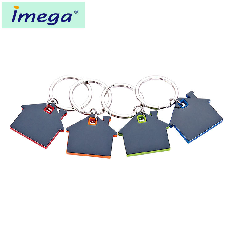 Latest custom logo keyring stainless steel acrylic pvc plastic PU leather reflective metal keychain
