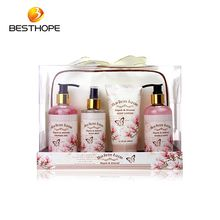 Fashion bag body care bath lotion gift set
