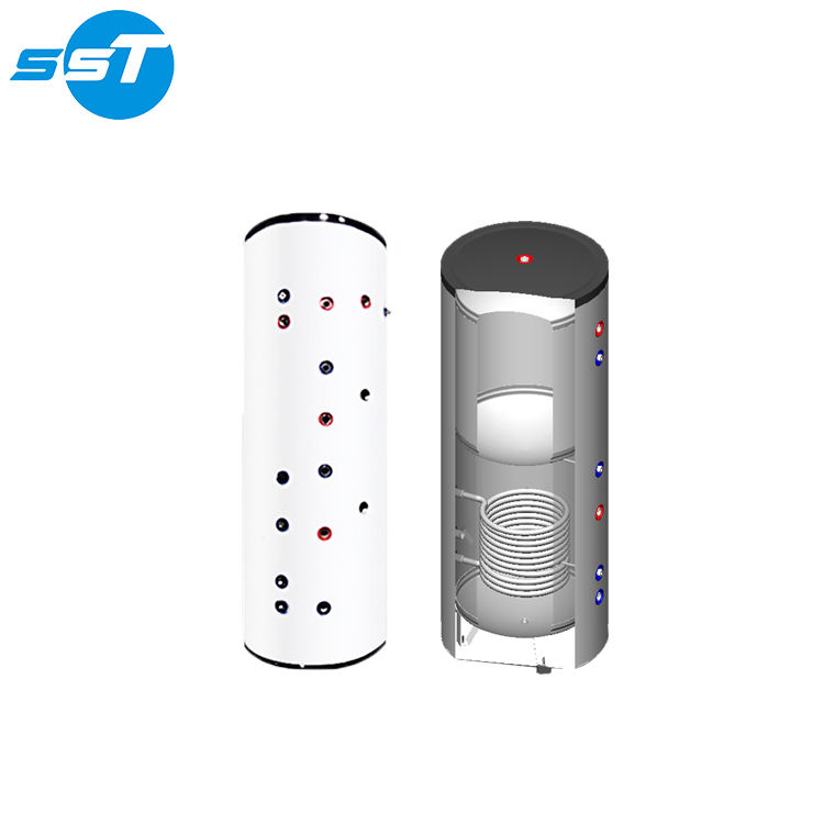 Excellent waterproof twin coil hot water cylinder