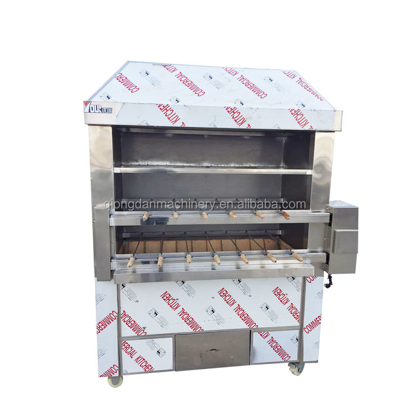 Brazilian grill machine stainless steel bbq charcoal machine bbq grill charcoal bbq grills