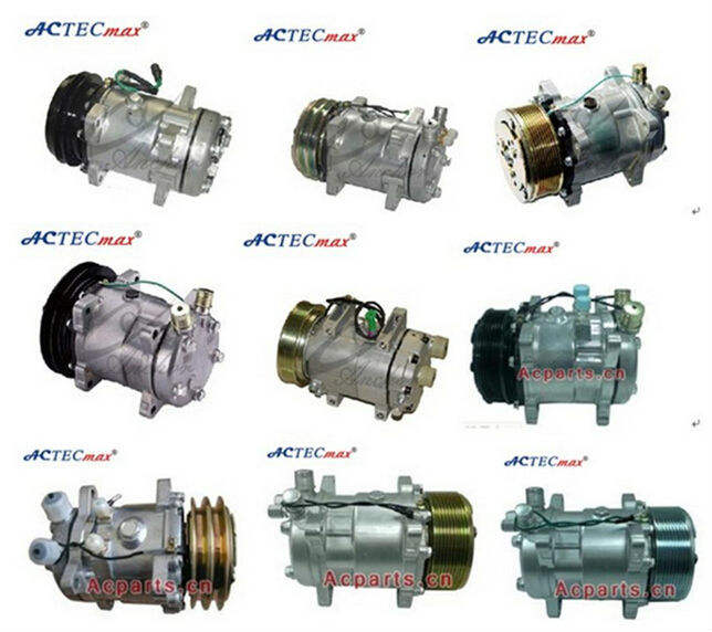 Auto AC Air conditioning Universal Compressor Manufacturer All Series and OEM Quality