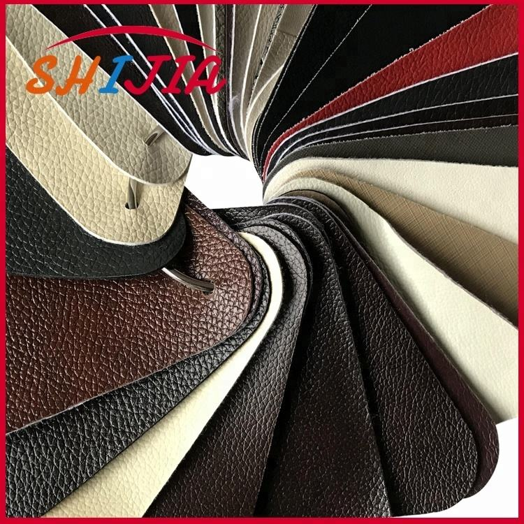 PVC leather for sofa and chair,nonwoven backing
