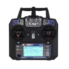 Original Flysky FS-i6 2.4G 6CH RC Transmitter and Receiver FS-iA6 for rc airplane 2.4ghz transmitter