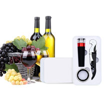 SUNWAY new trends 2019 gadgets innovative gift set wine opener kitchen accessories wine preserver kit bar set best seller amazon