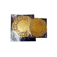 Gold More Size Inch Paper Doilies Pack Of 24 Round 10 Inch