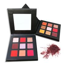 Cosmetics loose pigment OEM ODM matte eye shadow private label eyeshadow palette