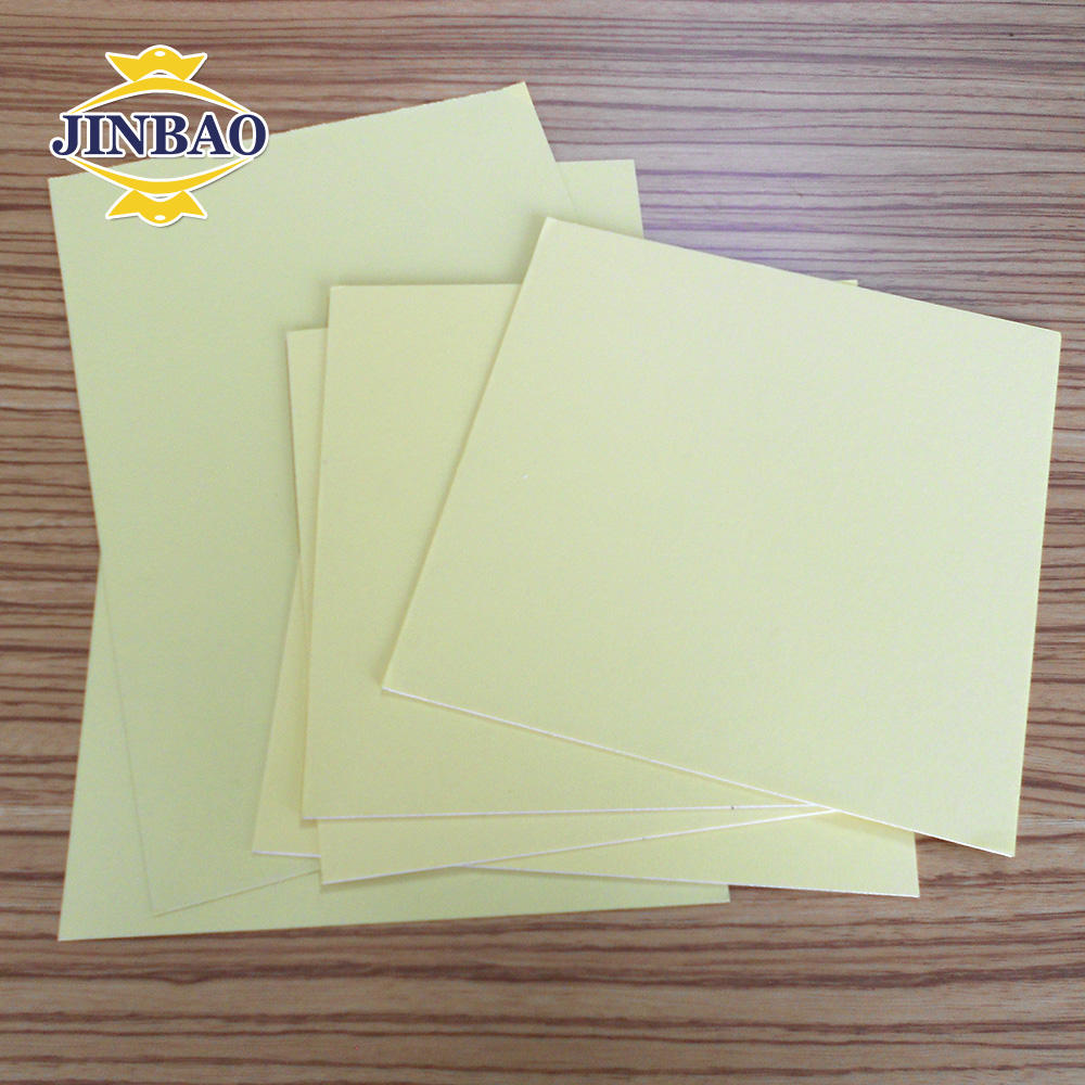 JINBAO PVC book binding materials, photo album PVC sheets