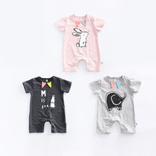 Bulk Wholesale Fashion Baby Clothes Handsome Korean Adult Boy Romper From China