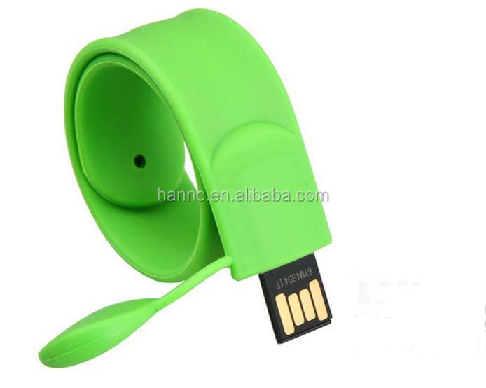 Colorful silicone bracelet usb flash drive Bracelet usb flash Custom logo gift usb flash