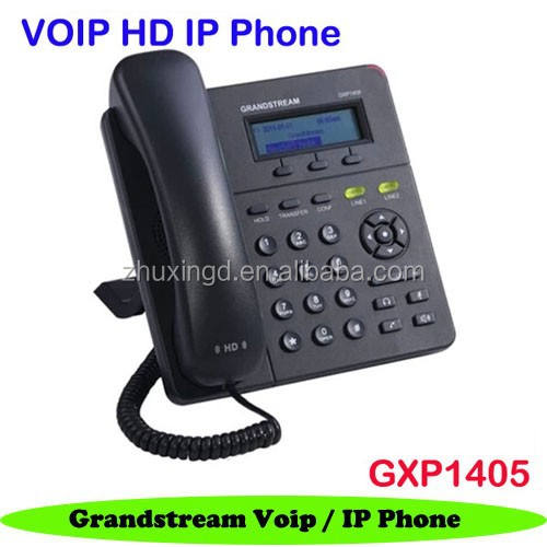 Grandstream GXP1405 bisnis kecil-menengah hd ip <span class=keywords><strong>voip</strong></span> telepon 2 account sip + poe