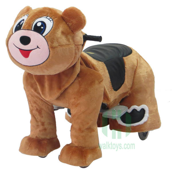 HI CE Amusement walking animal ride on toy ride sale zoo animal for mall