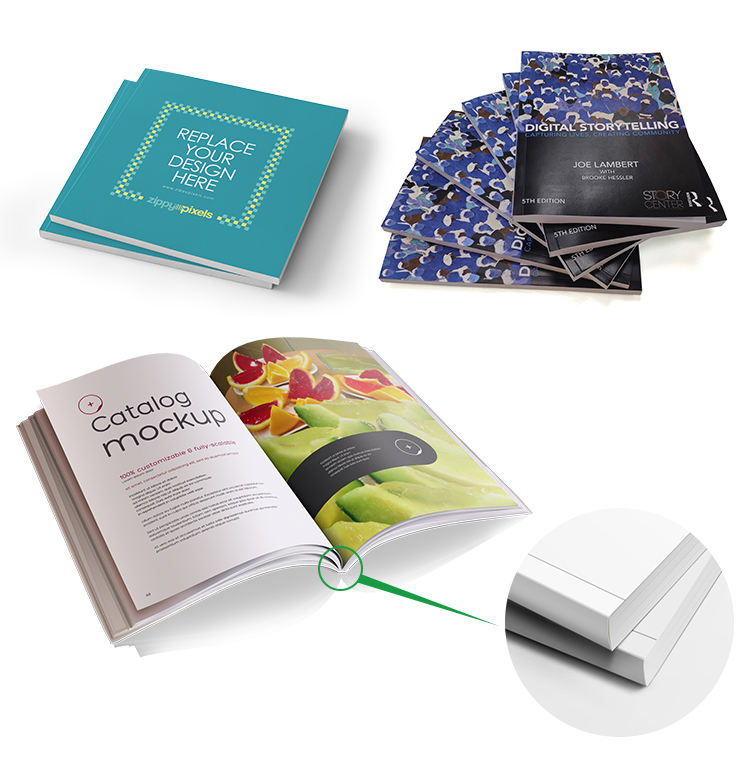 High Quality book printing services custom